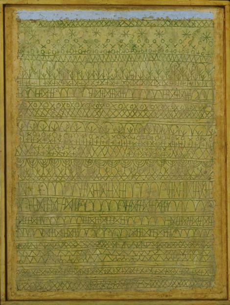 Paul Klee- Pastorale (Rhythms), 1927