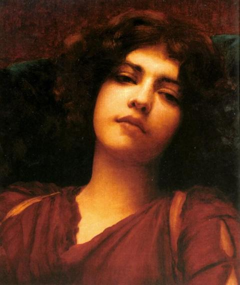 John William Godward - Reverie (Study), 1908