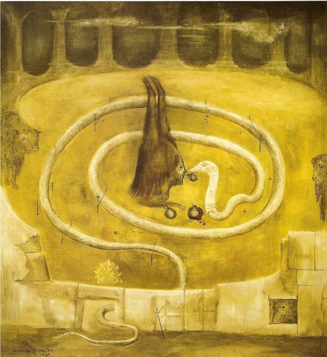 Leonora Carrington, Forbidden Fruit 1969