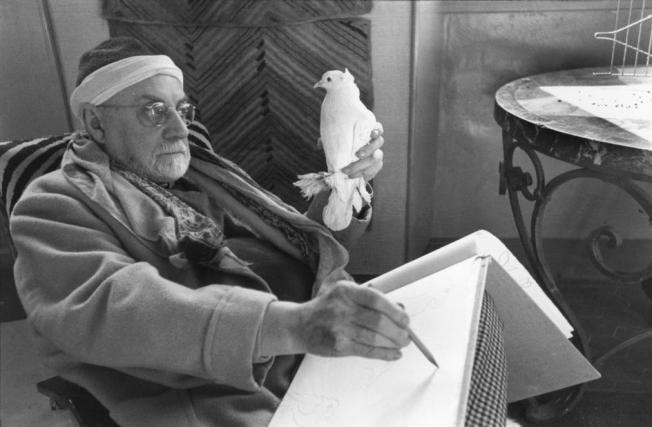 Henri Cartier-Bresson - Henri Matisse, Vence, France (1944)