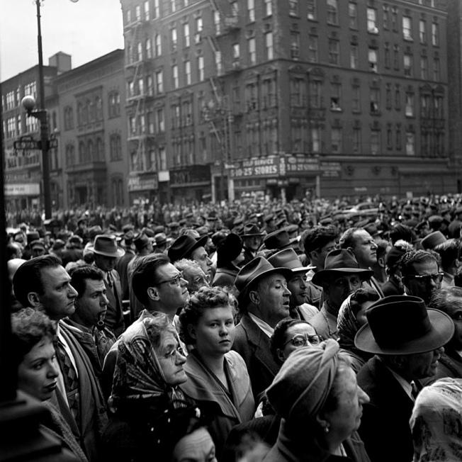 NY 1954 by Vivian Maier