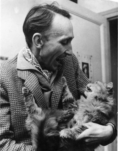 André-Bazin y gato