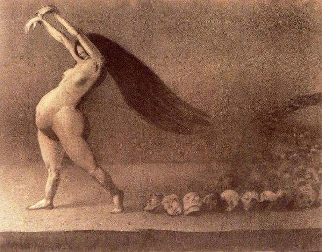 Alfred Kubin- Nuestra Madre Tierra (1902)