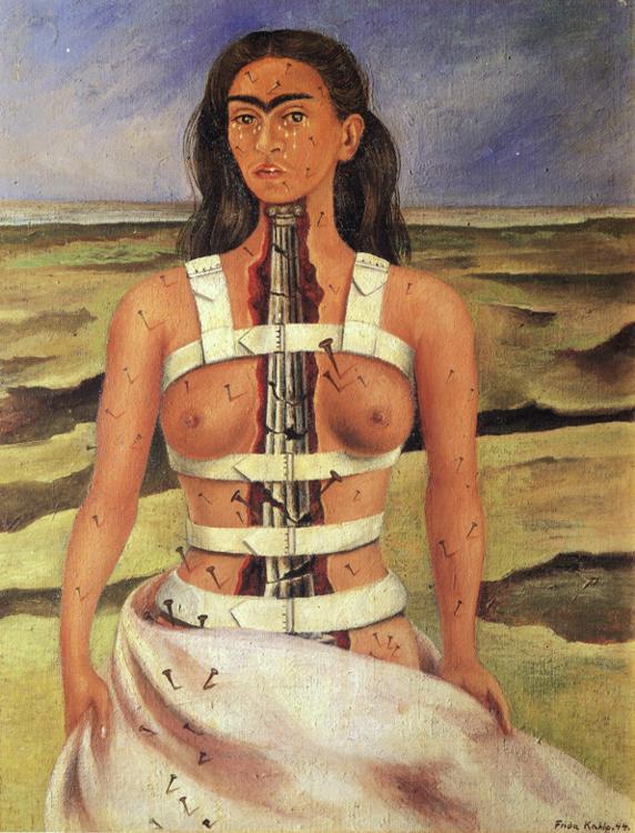 Frida Khalo- La columa rota, 1944
