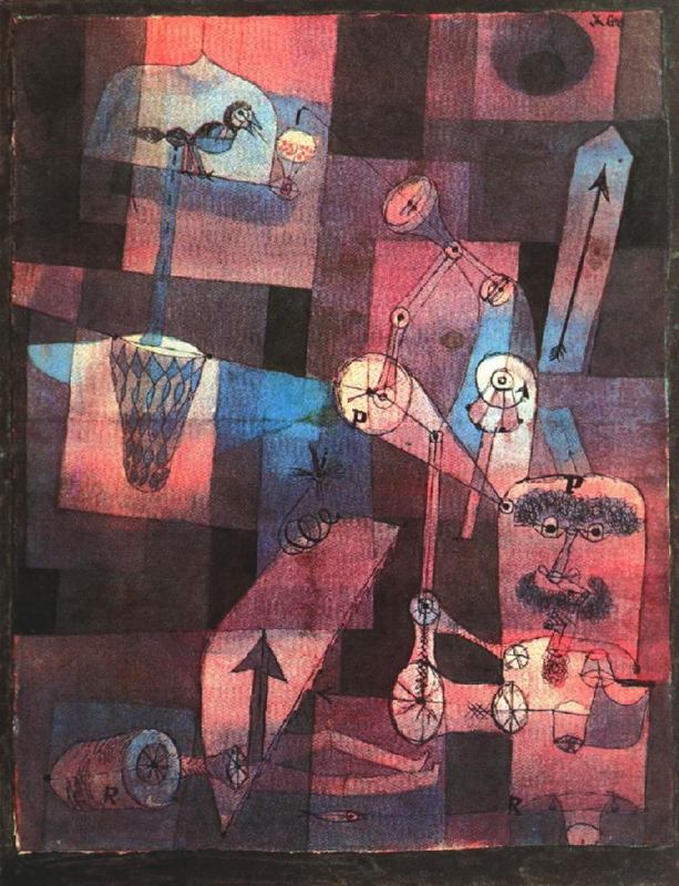Paul Klee- Analysis of Various Perversities