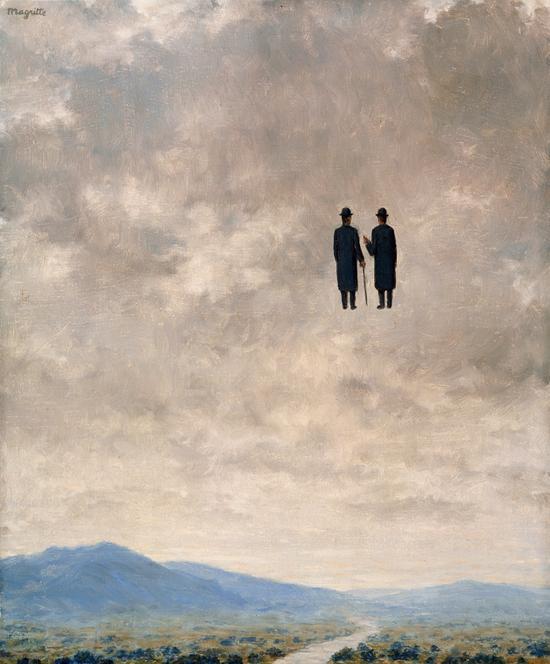 Magritte- El arte de la conversación (1963)