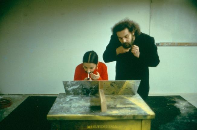 Ana Mendieta- Sin título (Facial Hair Transplant), 1972