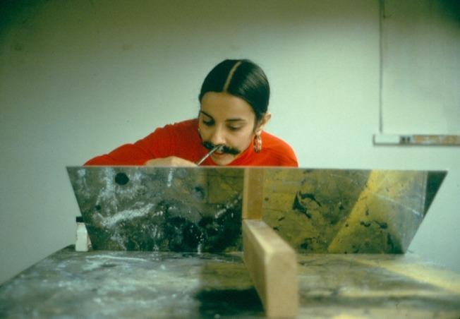 Ana Mendieta, Sin título (Facial Hair Transplant), 1972