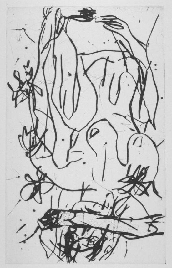 [no title] 1995 by Georg Baselitz born 1938