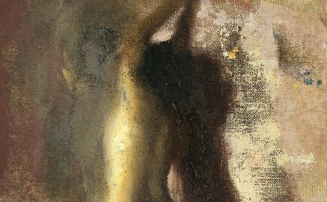 Giorgos Rorris- Woman and Shadow (2006)