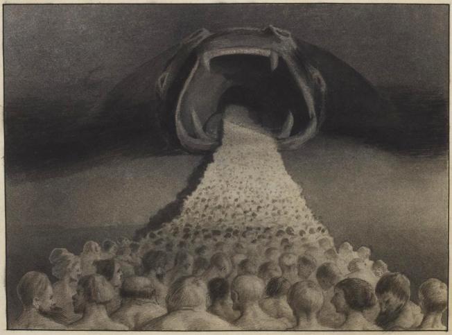 Alfred Kubin, Ins Unbekannte, 1900/01