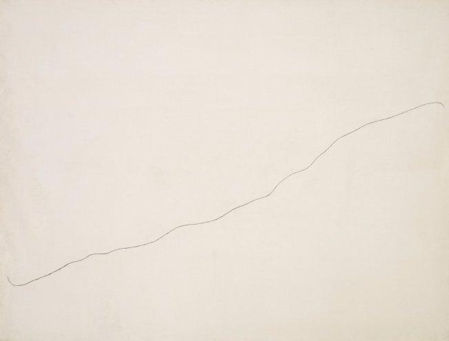 Joan Miró- Pintura sobre fondo blanco para la celda de un solitario (I)