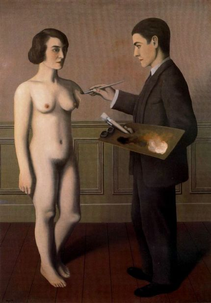 René Magritte- Intentando lo imposible (1928)