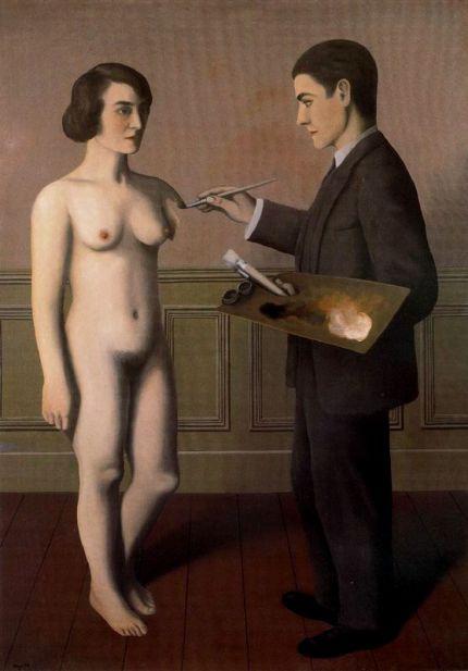 René Magritte- Intentando lo imposible (1928)