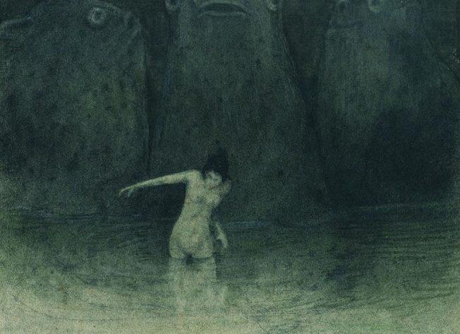 Alfred Kubin- Der-Sumpf (El Pantano) 1903–05