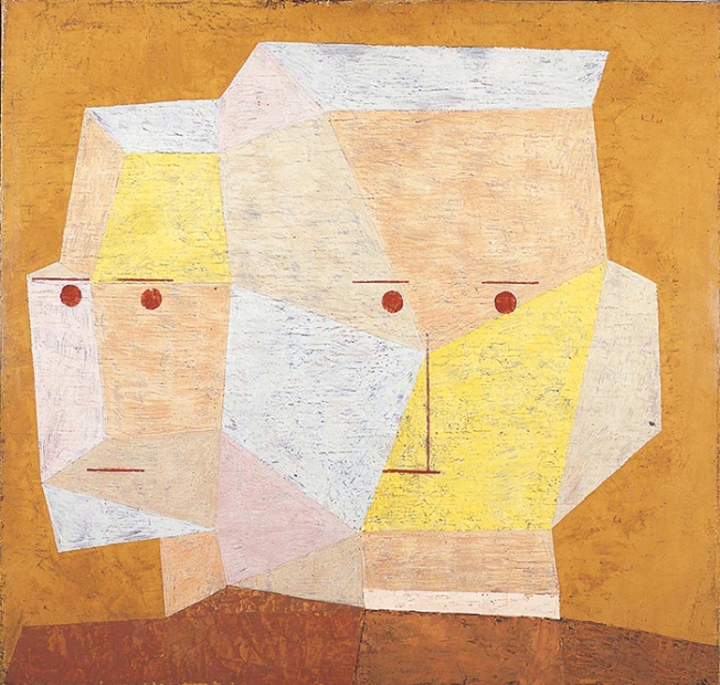 Paul-Klee-Two Heads1932