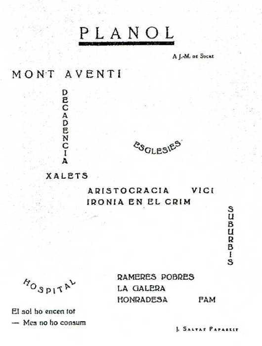 Joan Salvat-Papasseit-Plànol
