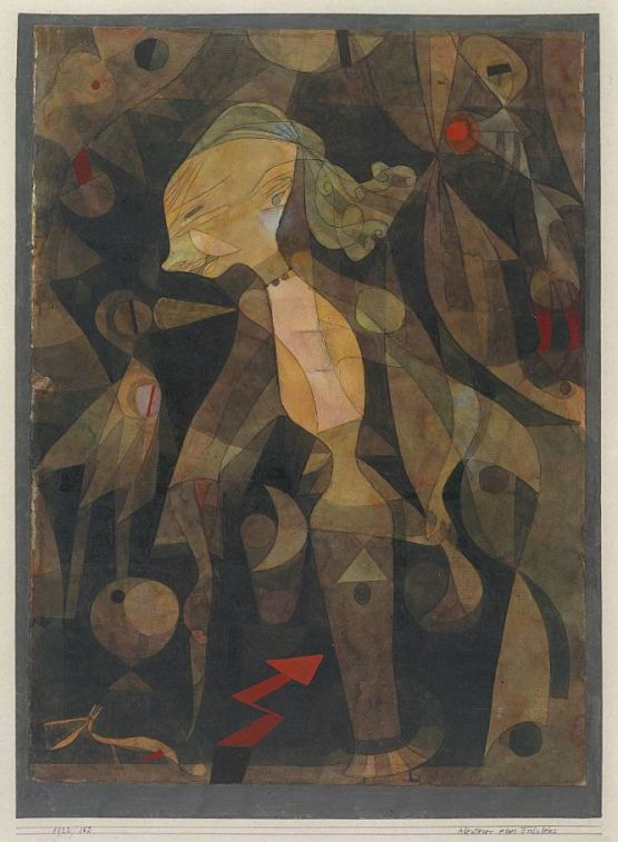 Paul Klee- Aventura de una joven, 1922