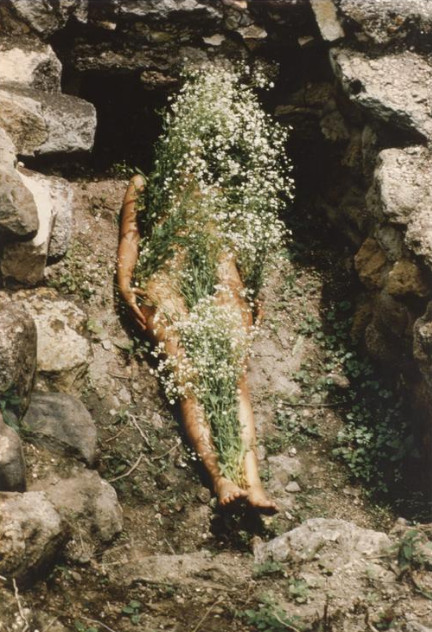 Ana Mendieta - Untitled (Silueta Series)