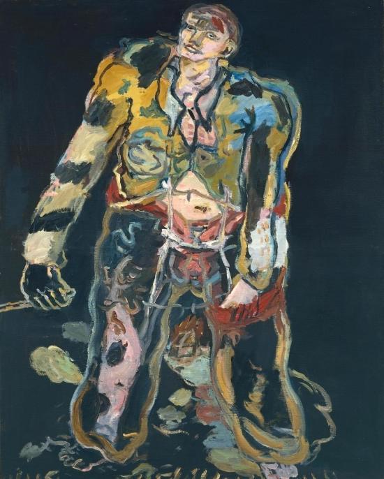 Rebel 1965 by Georg Baselitz born 1938