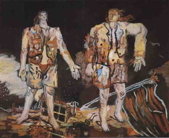 Georg Baselitz, The Great Friends, 1965