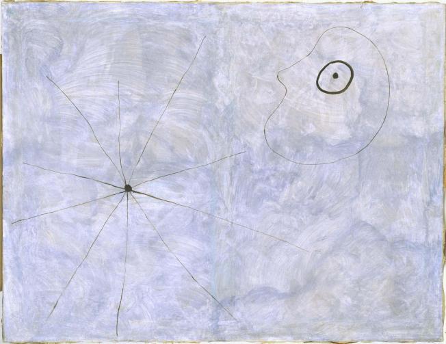 Joan Miró- Pintura (Cabeza y araña) 1925