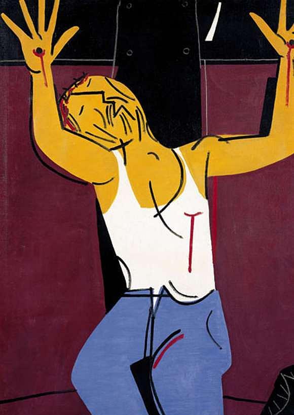 Luis Seoane- Cristo obreiro (1975)