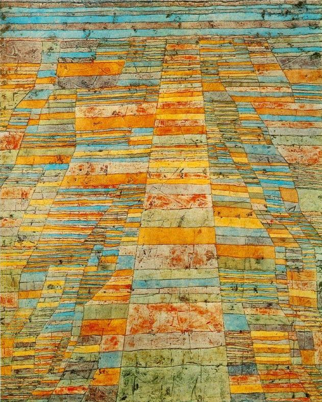 Paul Klee- Highway and Byways 1929