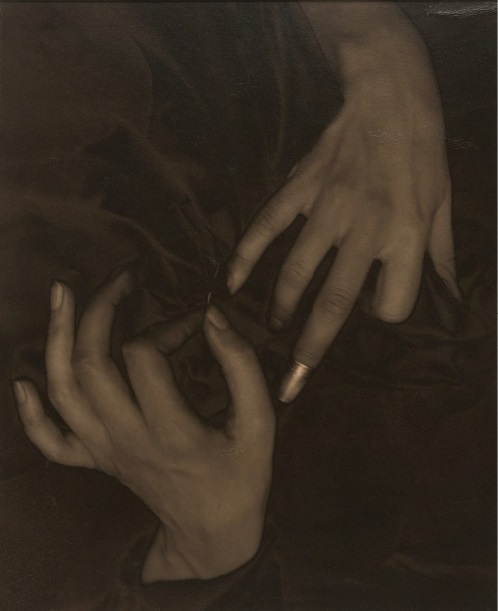 Alfred Stieglitz, Georgia O'Keeffe--Hands and Thimble, 1919