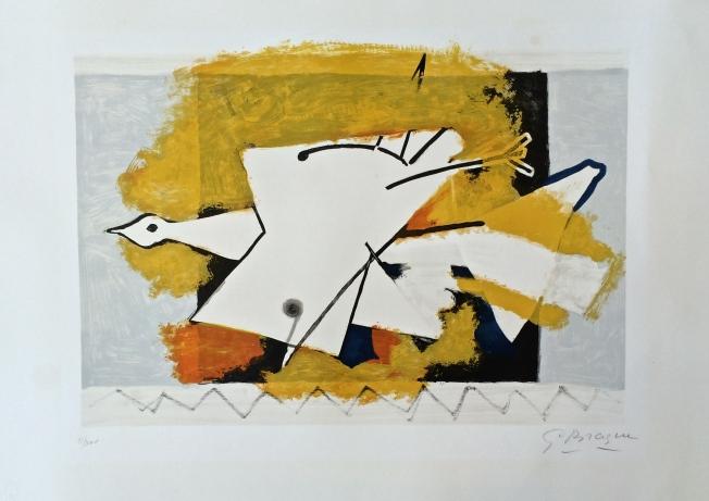 George Braque- L´oiseau jaune