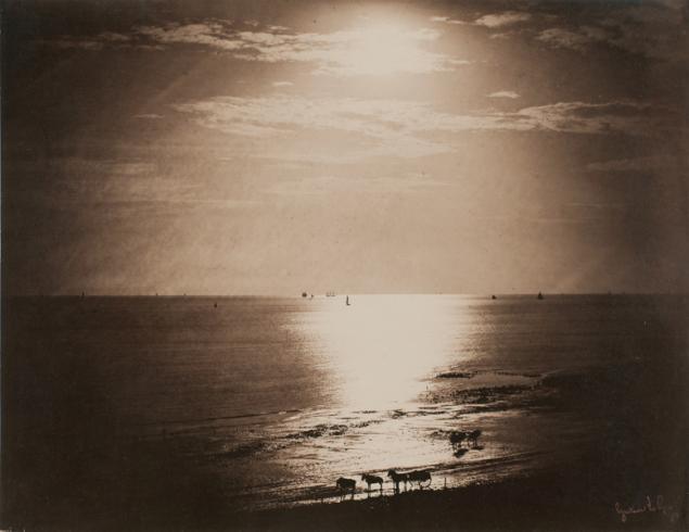 Gustave Le Gray- Le Soleil au Zénith Normandie, (1856-1857)