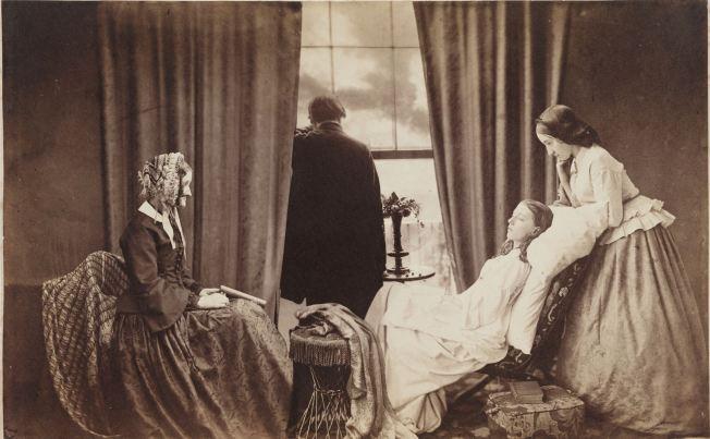 Henry Peach Robinson- Fading away (Los últimos instantes) (1858)
