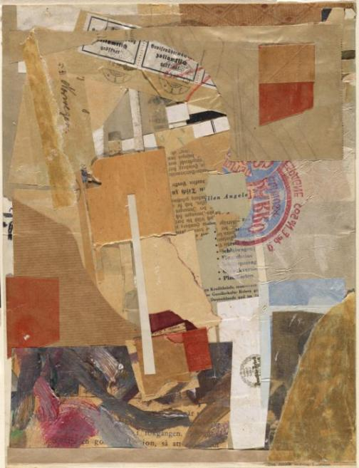 Opened by Customs 1937-8 by Kurt Schwitters 1887-1948