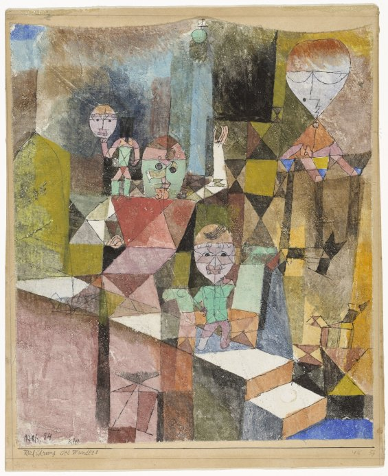 Paul Klee- Introducing the miracle (1916)