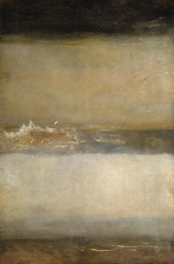 Three Seascapes c.1827 Joseph Mallord William Turner 1775-1851 Accepted by the nation as part of the Turner Bequest 1856 http://www.tate.org.uk/art/work/N05491