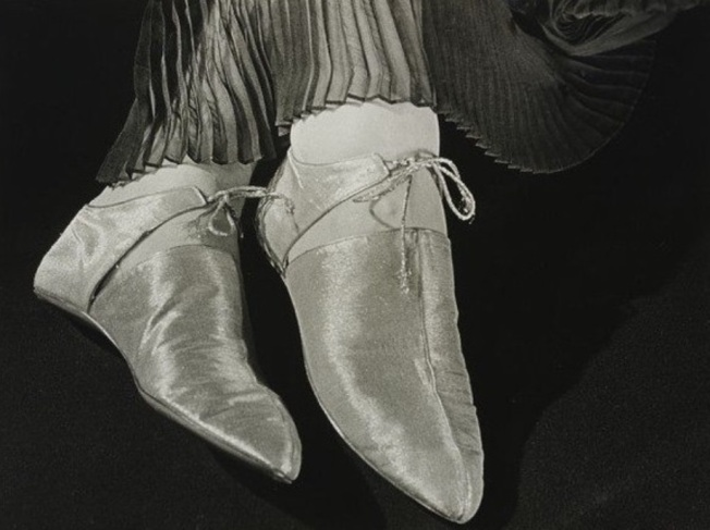 Ilse Bing, Silver Shoes, 1935