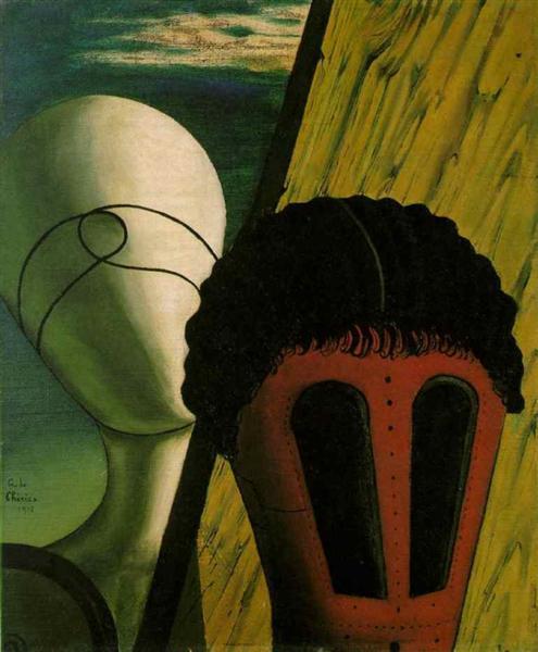 Giorgo de Chirico- Two Heads (1918)
