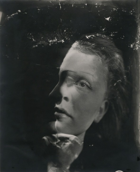 Dora Maar - Double Portrait (photomontage using two negatives), ca. 1930