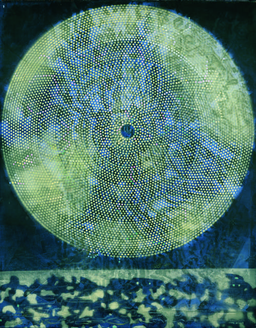 Max Ernst - Naissance d'une galaxie (Birth of a Galaxy), 1969