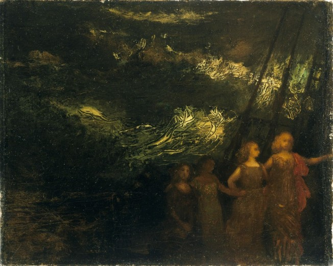 Arthur Bowen Davies ( 1863–1928) - The Voyage, Date unknown