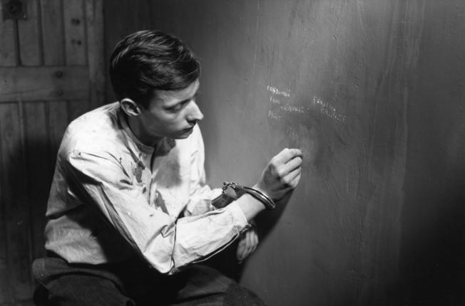 Fotograma Un condenado a muerte se ha escapado (Robert Bresson, 1956)