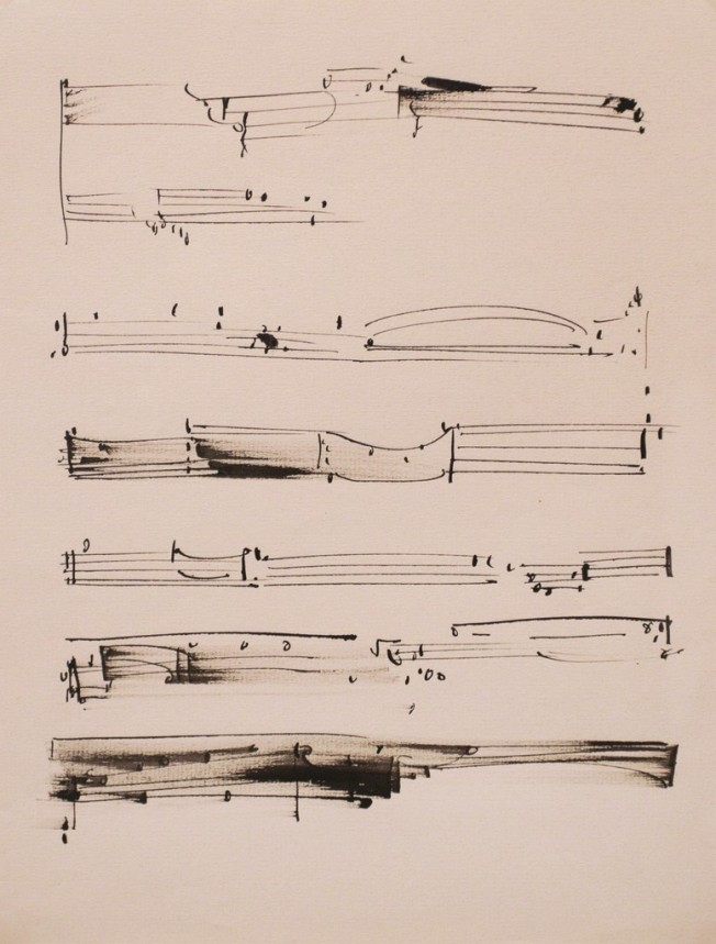 Frederick Sommer - Untitled (n.d, Pen and ink drawing on paper)