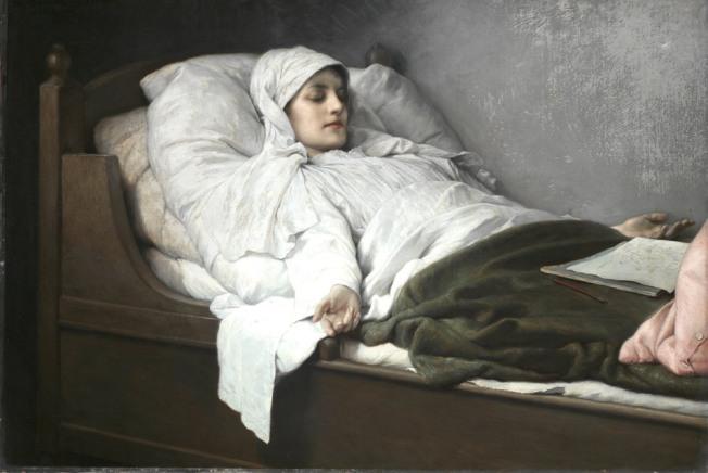 Gabriel von Max - La vidente de Prevorst (1892)
