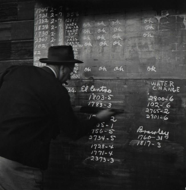 Richard Steinheimer - SD&AE Railroad Dutch Brantz roundhouse foreman, Calexico (1953)