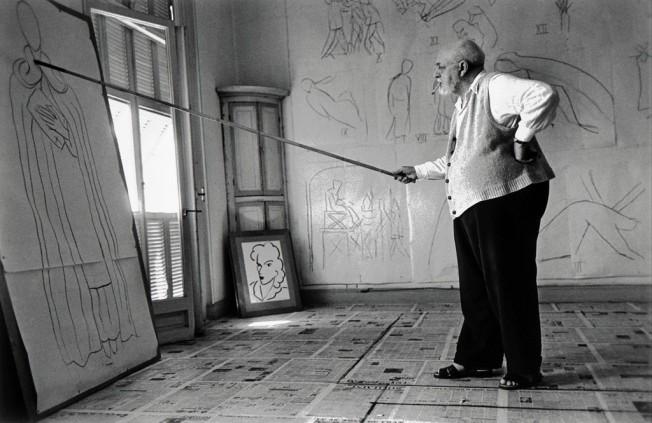 Robert Capa - Henri Matisse en su estudio (1949)