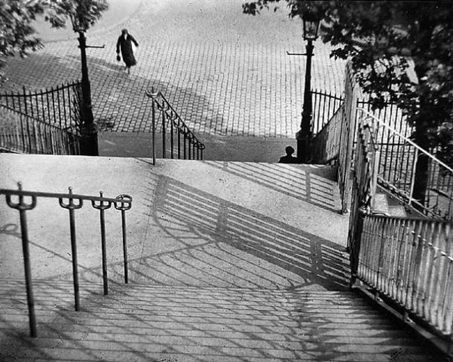 André Kertész - Stairs of Montmartre (1925)