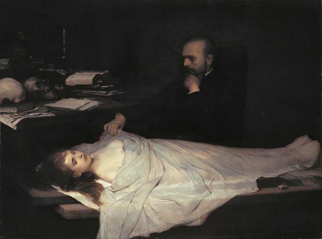 Gabriel von Max - Der Anatom (1869)