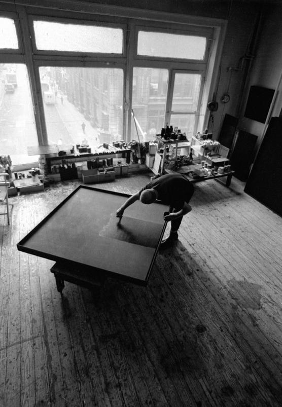 John Loengard - Ad Reinhardt (1966)