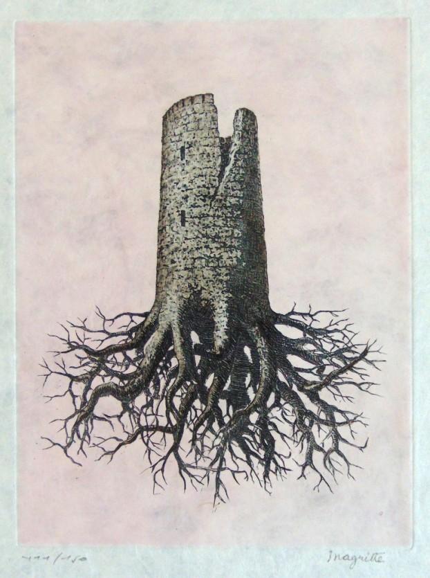 René Magritte - La Folie Almayer (Lien de Paille, 1968)