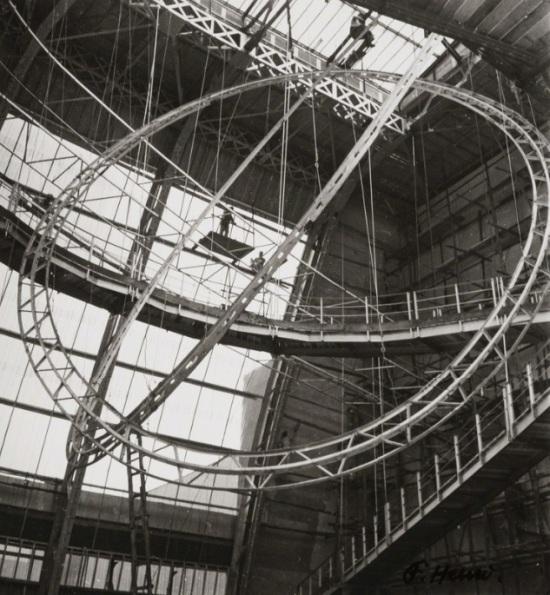 Florence Henri - Structure (intérieur du Palais de l'Air, Paris, Exposition Universelle), 1937